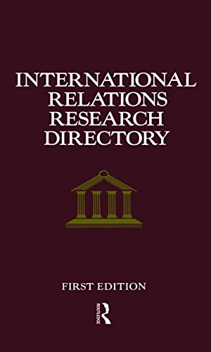 International Relations Research Directory: Europa Publications, 1995,