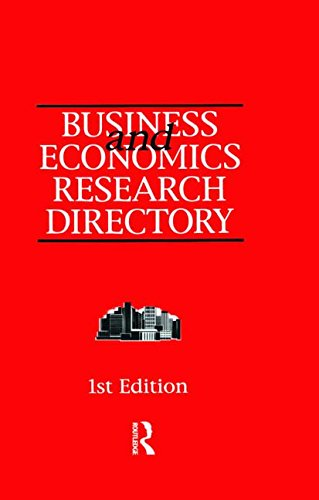 Business and Economics Research Directory: Europa Publications