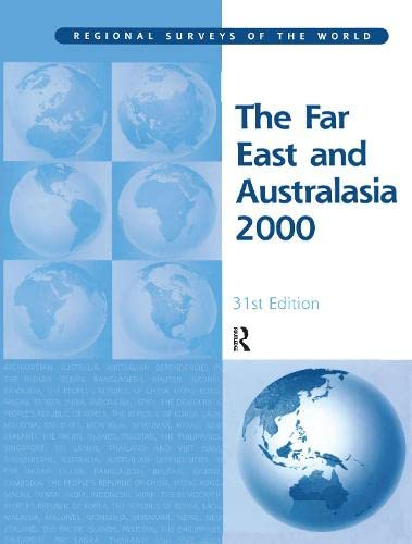 The Far East and Australasia 2000 (Hardback): Rita Sloan Berndt, Charlotte C. Mitchum