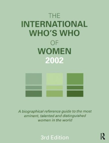 9781857431223: The International Who's Who of Women 2002