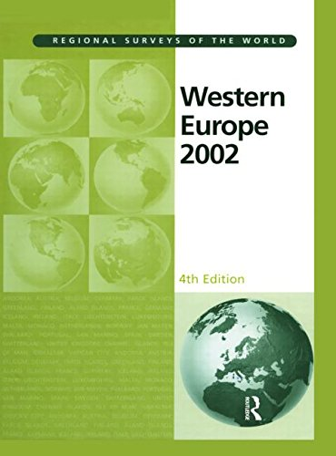 Western Europe 2002 (Western Europe (Europa Pubns)): Europa Publishe