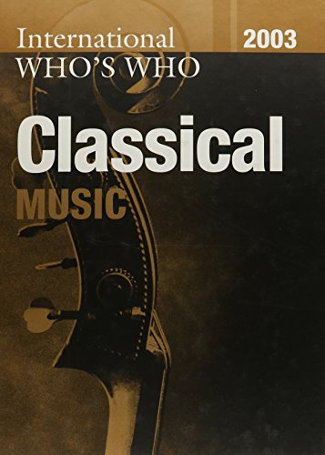 9781857431773: International Who's Who in Classical Music/Popular Music 2003 Set