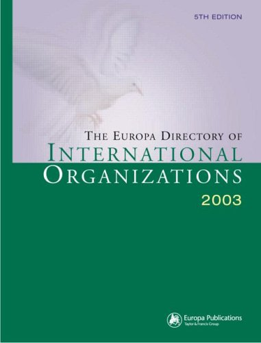 9781857431940: The Europa Directory of International Organizations 2003