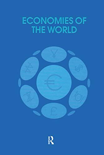 Economies of the World: Routledge Chapman Hall