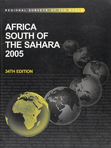 Africa South of the Sahara, 2005 (Regional Surveys of the World): Frame, Iain