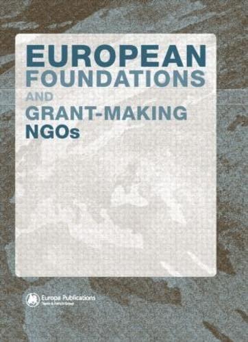 European Foundations and Grant-Making Ngos: Marcella, Rita