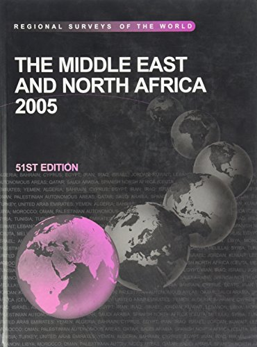 The Middle East and North Africa 2005 (Middle East & North Africa): Lucy Dean