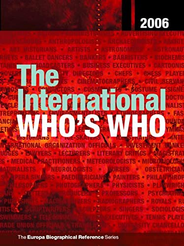 International Whos Who ( Hb)