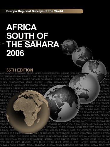 9781857433135: Africa South of the Sahara 2006 (Regional Surveys of the World)