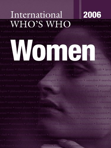 The International Who's Who of Women 2006