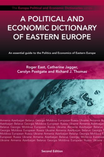 9781857433340: A Political and Economic Dictionary of Eastern Europe (Europa Political and Economic Dictionaries)