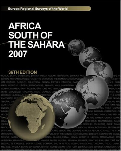 Africa South of the Sahara 2007: Europa PUBLICATIONS