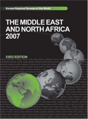 9781857433906: The Middle East and North Africa 2007 (Middle East & North Africa)