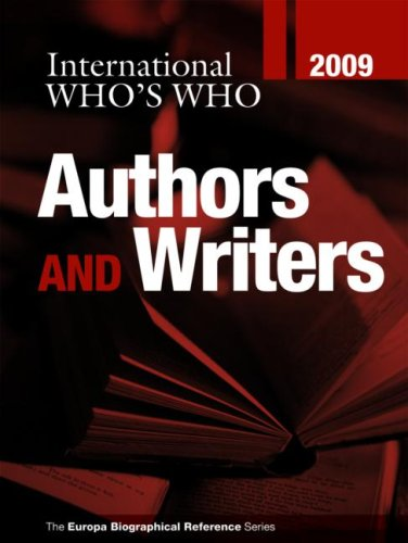 International Who s Who of Authors and Writers 2009 (Hardback)