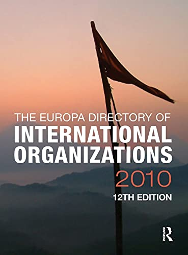 9781857435580: Europa Directory of International Organizations 2010