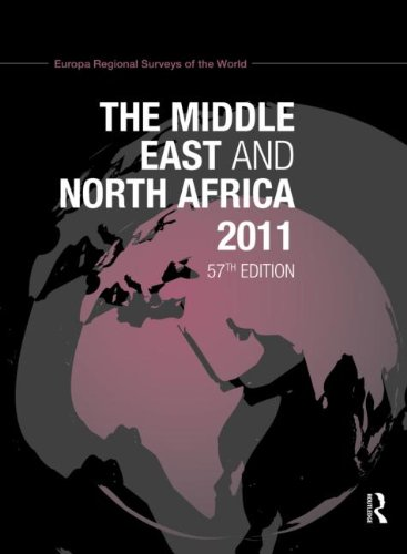The Middle East and North Africa, 2011. [57th edition].: Europa Regional Surveys of the World.