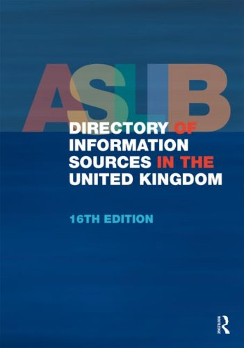 ASLIB Directory of Information Sources in the United Kingdom (Hardback)