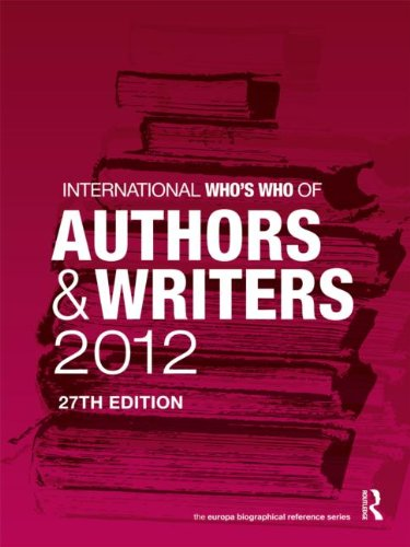 International Who's Who of Authors and Writers: Europa Publications