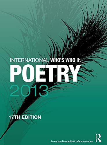 International Who s Who in Poetry 2013 (Hardback)