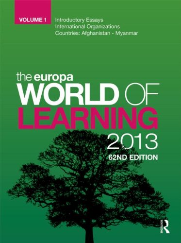 The Europa World of Learning 2013: n/a