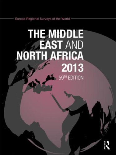 9781857436587: The Middle East and North Africa 2013 (Europa Regional Surveys of the World) (Volume 5)