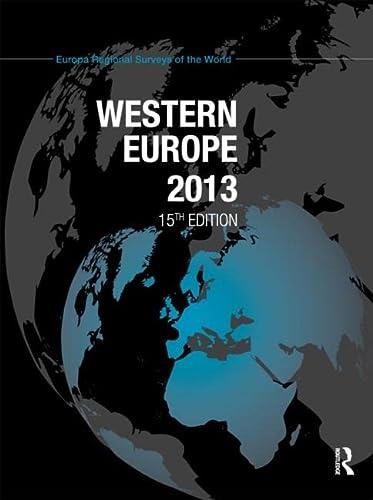 Western Europe 2013 (Hardback)