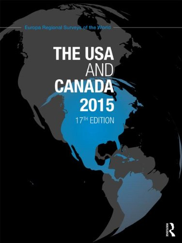 9781857437416: The USA and Canada 2015 (Europa Regional Surveys of the World) (Volume 8)
