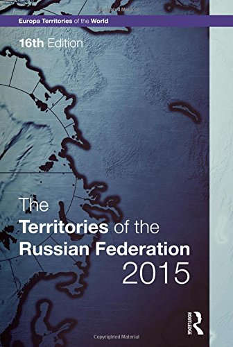 Territories of the Russian Federation 2015 (Hardback)