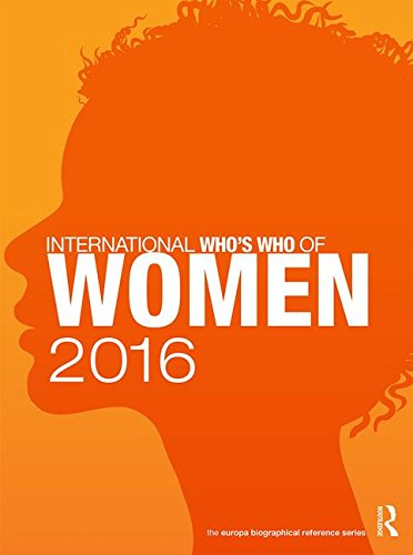 9781857437812: International Who's Who of Women 2016