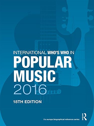 International Who s Who in Popular Music 2016 (Hardback)