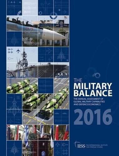 9781857438352: The Military Balance 2016