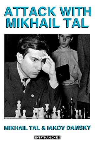 9781857440430: Attack with Mikhail Tal (Cadogan Chess Books)