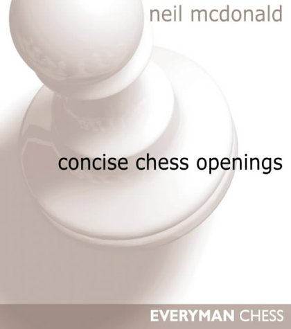 9781857442977: Concise Chess Openings (Everyman Chess)