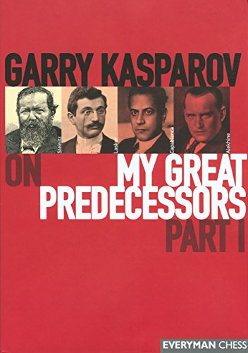 Garry Kasparov on My Great Predecessors, Part 1-V (5 books) (reprint ed.): Kasparov, Garry