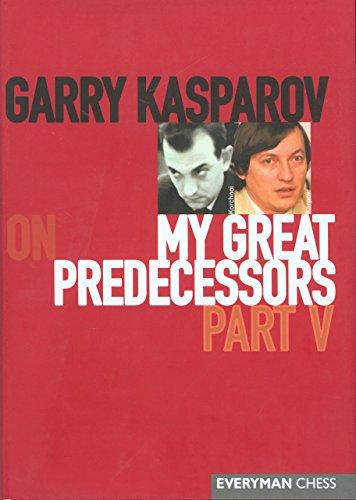 Garry Kasparov on My Great Predecessors, Part: Garry Kasparov