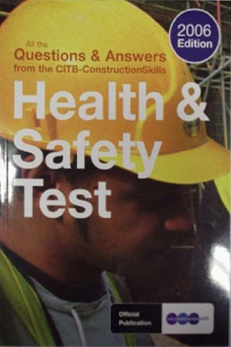 9781857511666: Health and Safety Test Book 2006