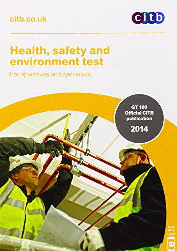 Health, Safety and Environment Test for Operatives: CITB