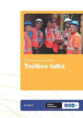 9781857513585: Toolbox Talks: GT 700/13