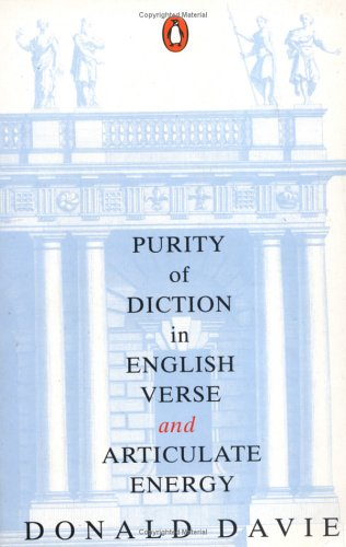 9781857541212: Purity of Diction in English Verse: With New Epilogue (Lives & letters)