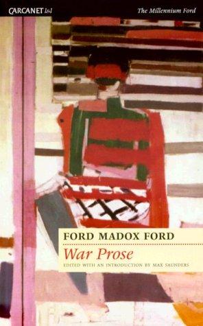9781857543964: War Prose (Lives & Letters)