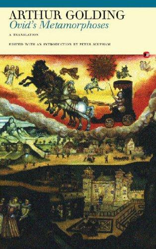 Ovid's Metamorphoses: A Translation (Fyfield Books): Scupham, Peter [Editor]; Golding, Arthur ...