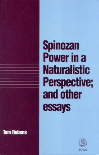 9781857562187: Spinozan Power in a Naturalistic Perspective and Other Essays