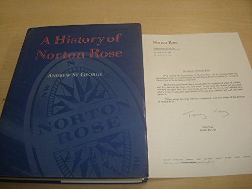 9781857570281: History of Norton Rose