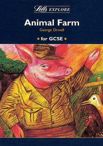 "Letts Explore ""Animal Farm"" (Letts Literature Guide): Stewart Martin, John"
