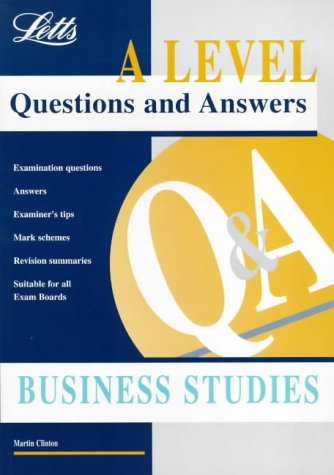 A Level Questions and Answers: Business Studies: Clinton, Martin