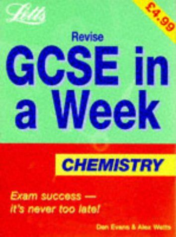 9781857586961: Revise GCSE in a Week Chemistry