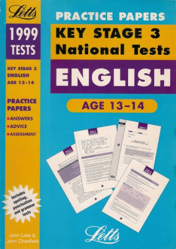 9781857587906: Key Stage 3 National Tests Practice Papers: English