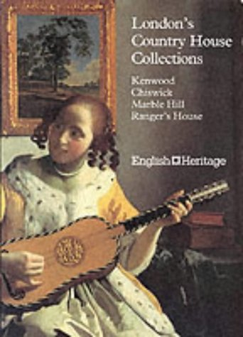 9781857590128: London's Country House Collections