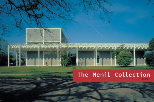 9781857594836: Art Spaces: The Menil Collection
