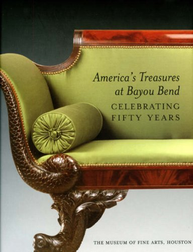 9781857594850: America's Treasures at Bayou Bend: Celebrating Fifty Years
